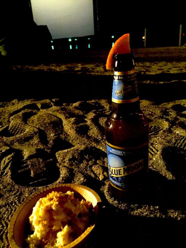 ビール オレンジ ポテトサラダ