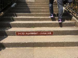 階段 クイズ 参道
