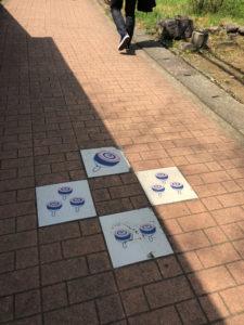 コマ 散歩 参道