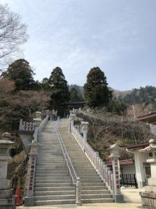 下社 階段 登山