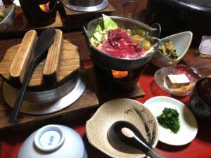 猪鍋 定食 釜飯