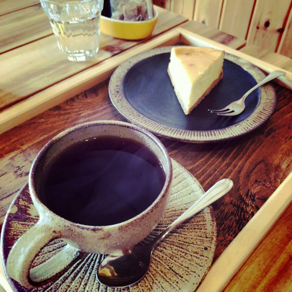 チーズケーキ 木 スプーン