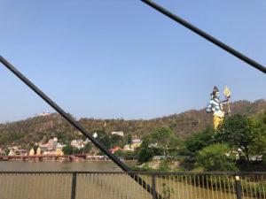 シバ神 ガンジス川 橋