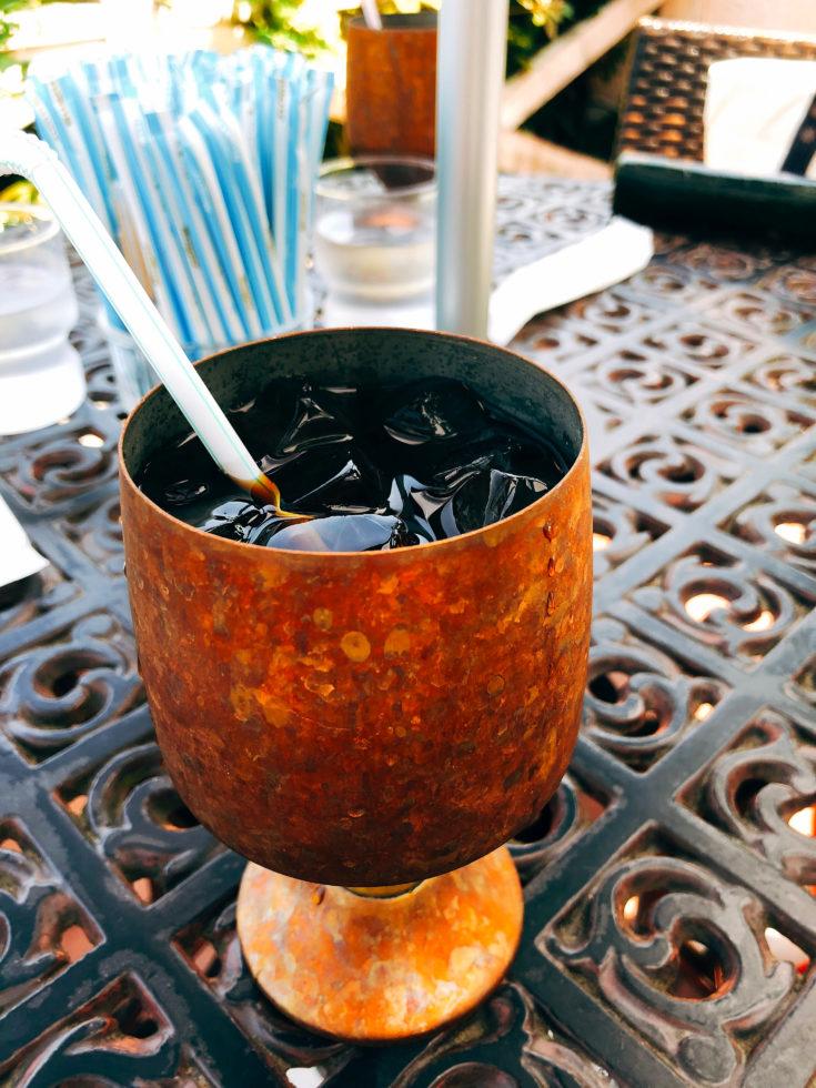 アイスコーヒー ストロー スティックシュガー