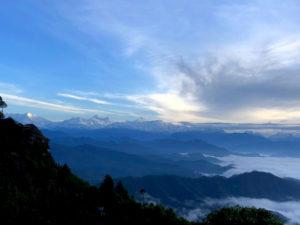 ヒマラヤ山脈 雲海 山