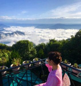 雲海 カフェ ヒマラヤ