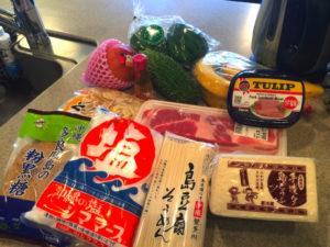 沖縄料理、島豆腐、スパム