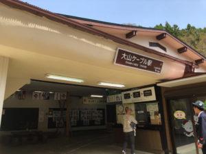 ケーブルカー 駅 坂道