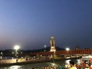 ライト 橋 時計台