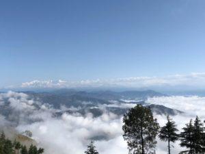 雲海 ヒマラヤ 雲の上
