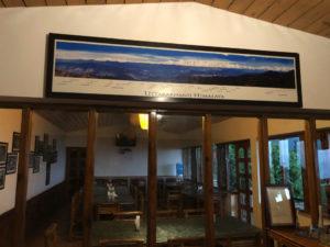 食堂 ヒマラヤ山脈 ロッジ